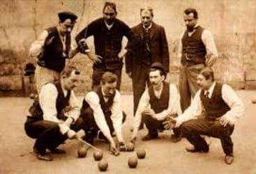 de geschiedenisc van het jeu de boulesspel amicale de pétanque leusden