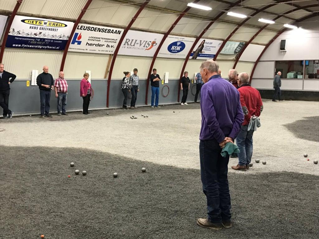 wedstrijdzaken toernooien amicale de pétanque jeu de boules vereniging leusden